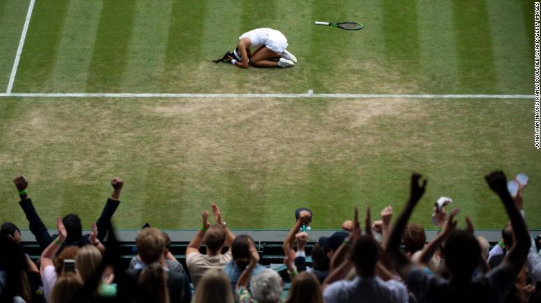 Emma Raducanu: 18-year-old Briton's remarkable run at Wimbledon gathers pace