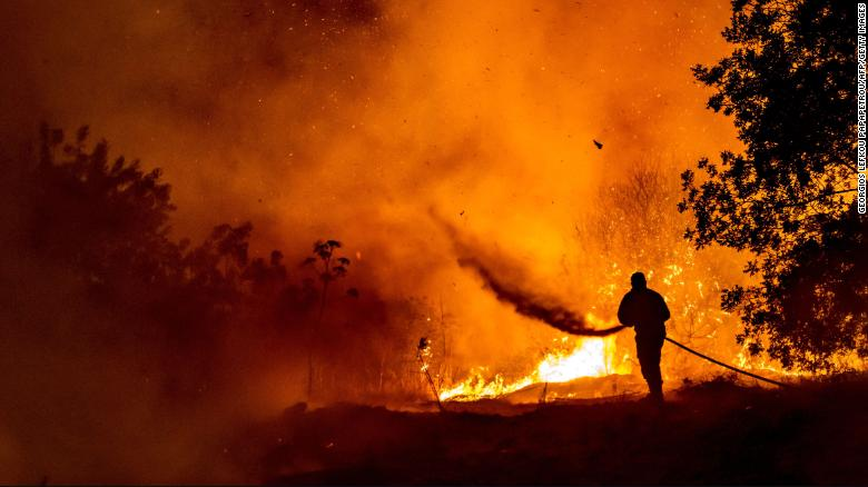 Cyprus wildfires leave at least four dead in 'unprecedented tragedy'