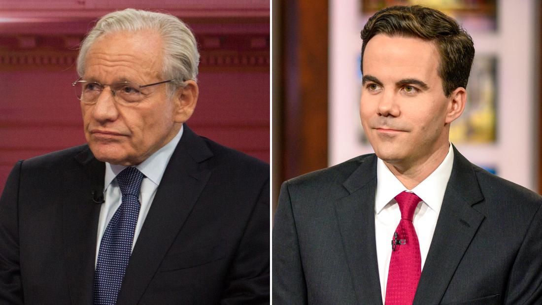 Bob Woodward, left, and Robert Costa.