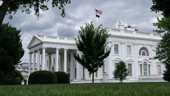 The White House is seen on July 3, 2021 in Washington, DC.