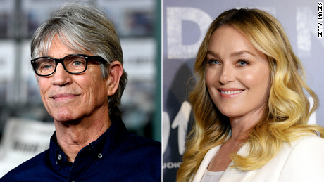 Eric Roberts (left) and Elisabeth Röhm (right) are featured on a new podcast.