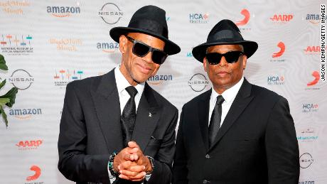 """Jimmy Jam (left) and Terry Lewis (right) attend the National Museum of African American Music's """"Celebration of Legends"""" benefit concert in Nashville, Tennessee, June 17."""