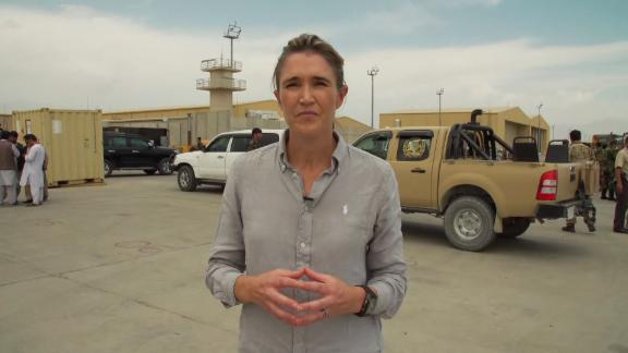CNN's Anna Coren goes inside Bagram Airfield to capture scenes of abandonment as Afghan forces pick up the pieces following the withdrawal of US and NATO troops after nearly two decades of war.