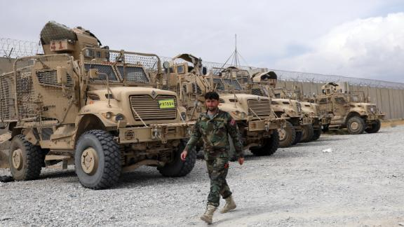 The US military left Afghanistan's Bagram Airfield on July 5, and didn't notify the new Afghan commander for more than two hours.
