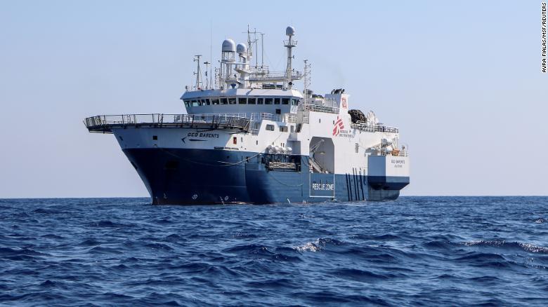 Medecins Sans Frontieres says Mediterranean rescue mission blocked after ship seizure in Italy