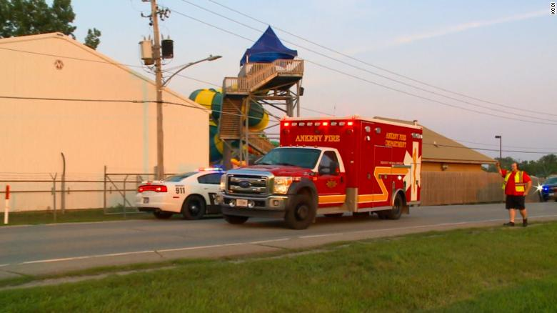 11-year-old boy dies, 3 others injured after a raft ride at an Iowa amusement park overturns