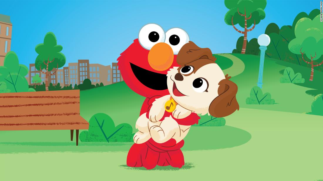 Elmo's adopting a puppy on Sesame Street and your heart probably can't handle the cuteness