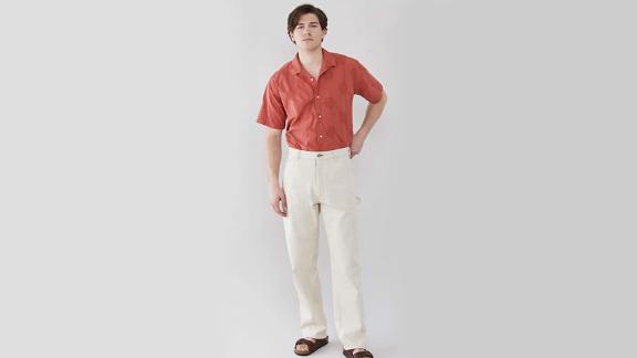 Gitman Vintage Large Dot Short Sleeve Shirt