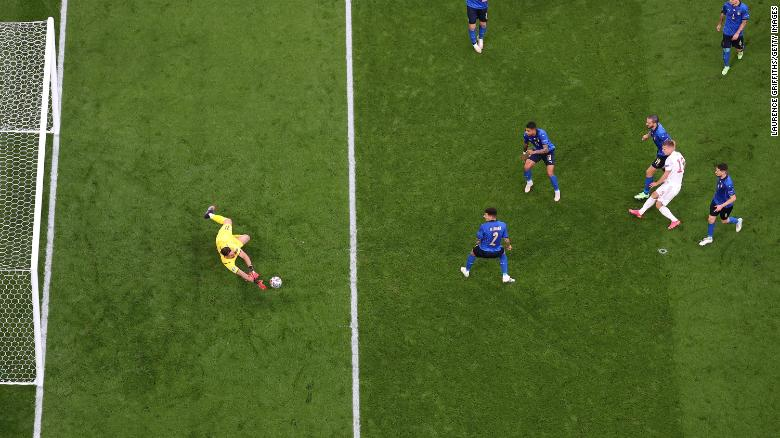 Italy wins dramatic penalty shootout against Spain to reach Euro 2020 final