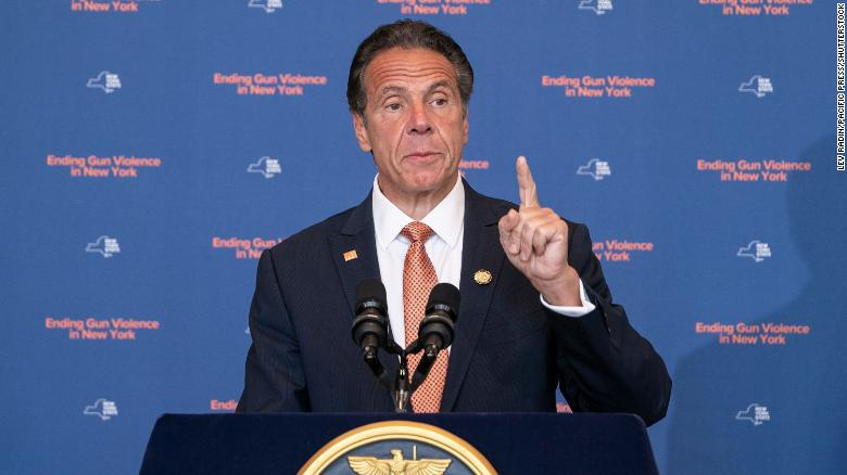 New York Gov. Andrew Cuomo declares gun violence emergency in his state