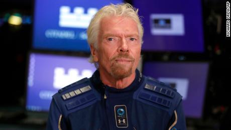 Richard Branson corre um grande risco para ir para o espaço