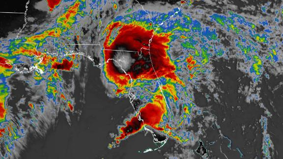Image for Tropical Storm Elsa makes landfall on Florida's coast