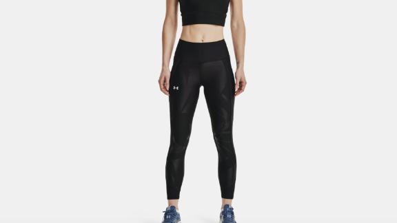 Women's HeatGear Armor Anti-Slip Waistband Emboss Panel Ankle Leggings