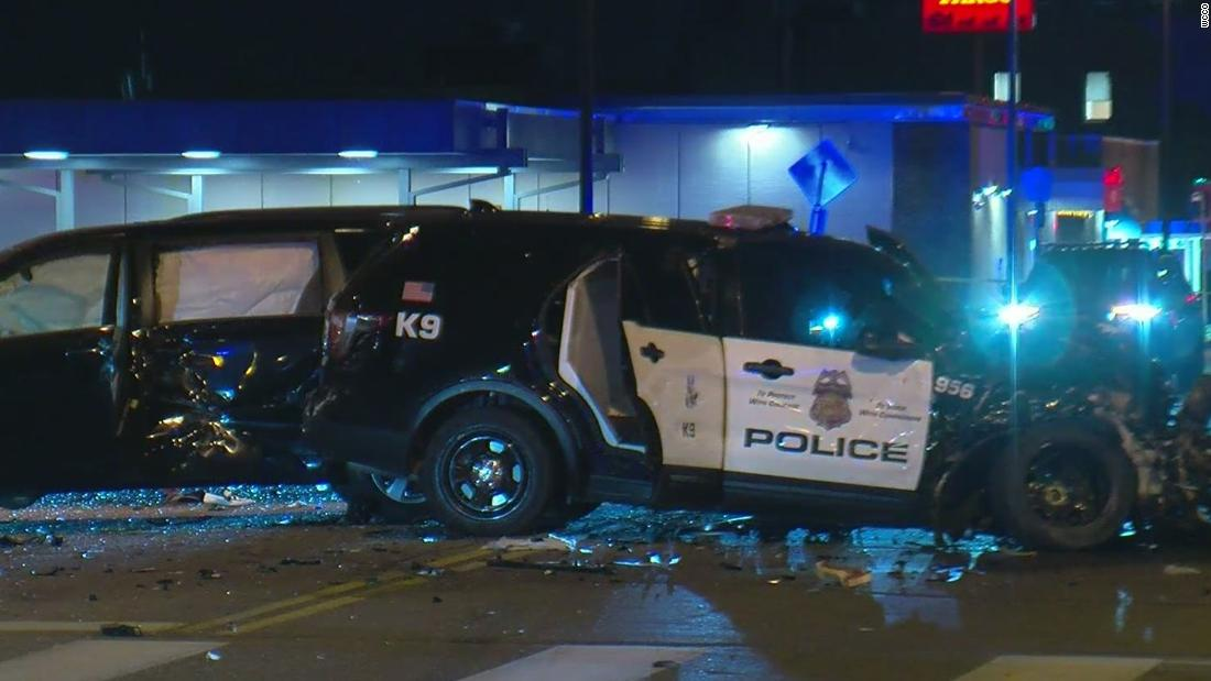 Minneapolis police officer is charged in fatal high-speed crash