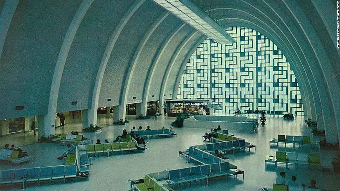 The abandoned airport terminal where everything still works