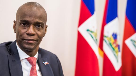 Haiti President Jovenel Moise in October 2019.