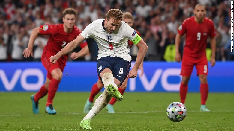 England reaches first major final since 1966 after tense Euro 2020 semifinal victory over Denmark thanks to Harry Kane winner