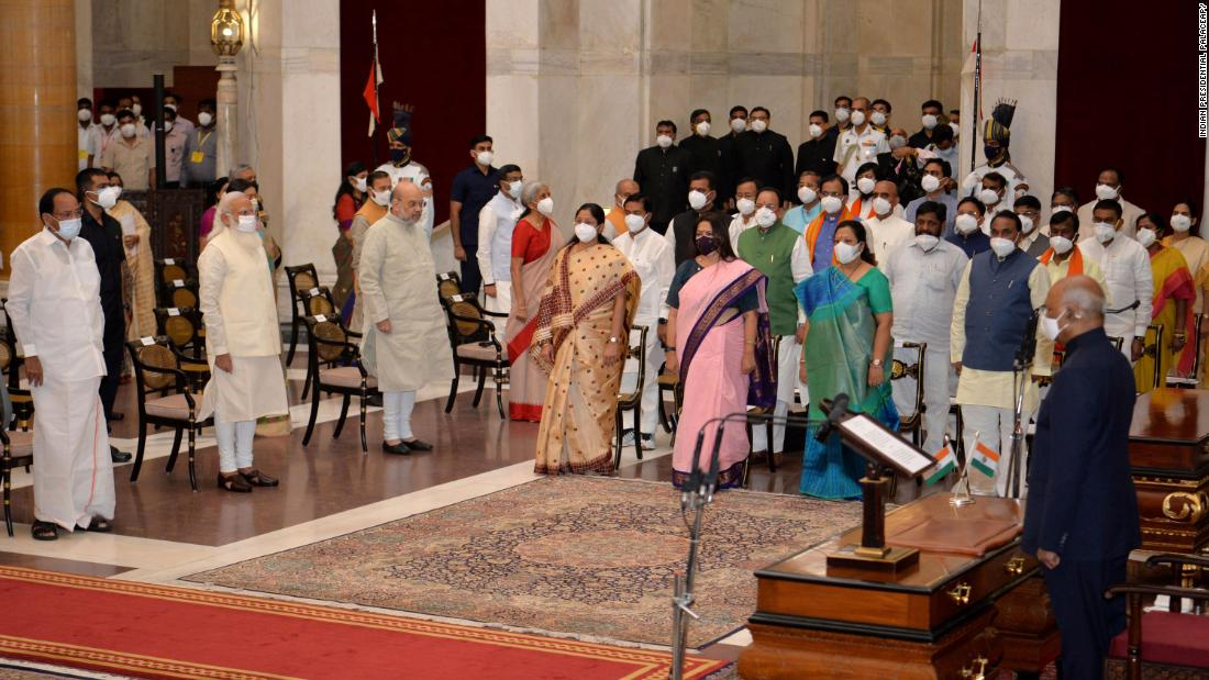 Indian PM Modi fires 12 ministers as Covid crisis lingers