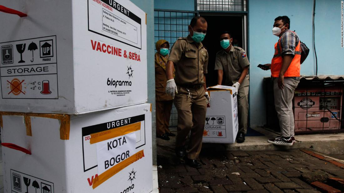 Lead Sinovac vaccine scientist in Indonesia dies of suspected Covid-19, media say