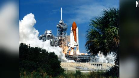 Space shuttle Discovery lifts off on September 29, 1988.  - 210708115354 02 nasa space shuttle moments scn large 169 - NASA's Space Shuttle Program: 8 pivotal moments