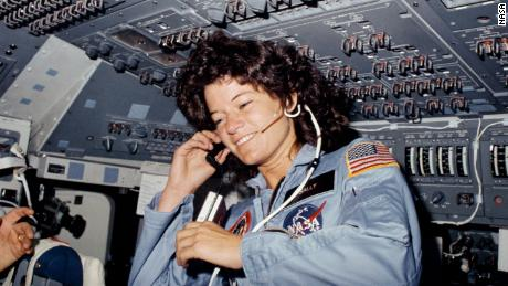 Seen on the flight deck of the space shuttle Challenger, astronaut Sally Ride, STS-7 mission specialist, became the first American woman in space on June 18, 1983.   - 210708115438 03 nasa space shuttle moments scn large 169 - NASA's Space Shuttle Program: 8 pivotal moments