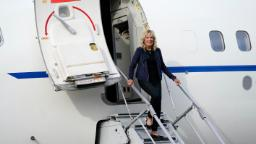 Jill Biden heads to Tokyo amid rising concern about Covid and the Olympics