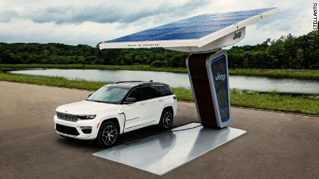 Jeep promises more plug-in vehicles like thisGrand Cherokee 4xe.