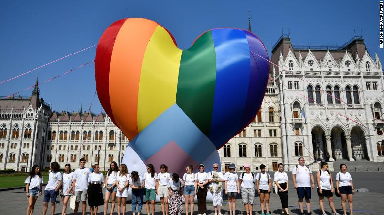 European Union urged to punish Hungary over law criticized as homophobic