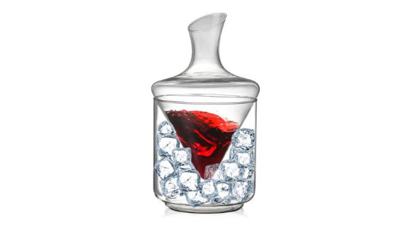 Wine Decanter Chiller Set With Ice Bucket