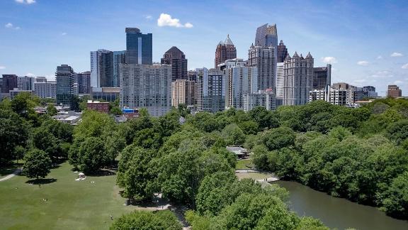 Atlanta is a bustling Southern city.
