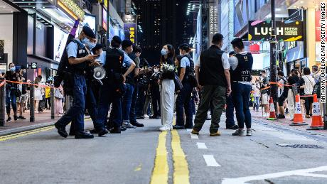 Some Hong Kongers are glorifying a man who knifed a cop, showing the city's problems are far from over