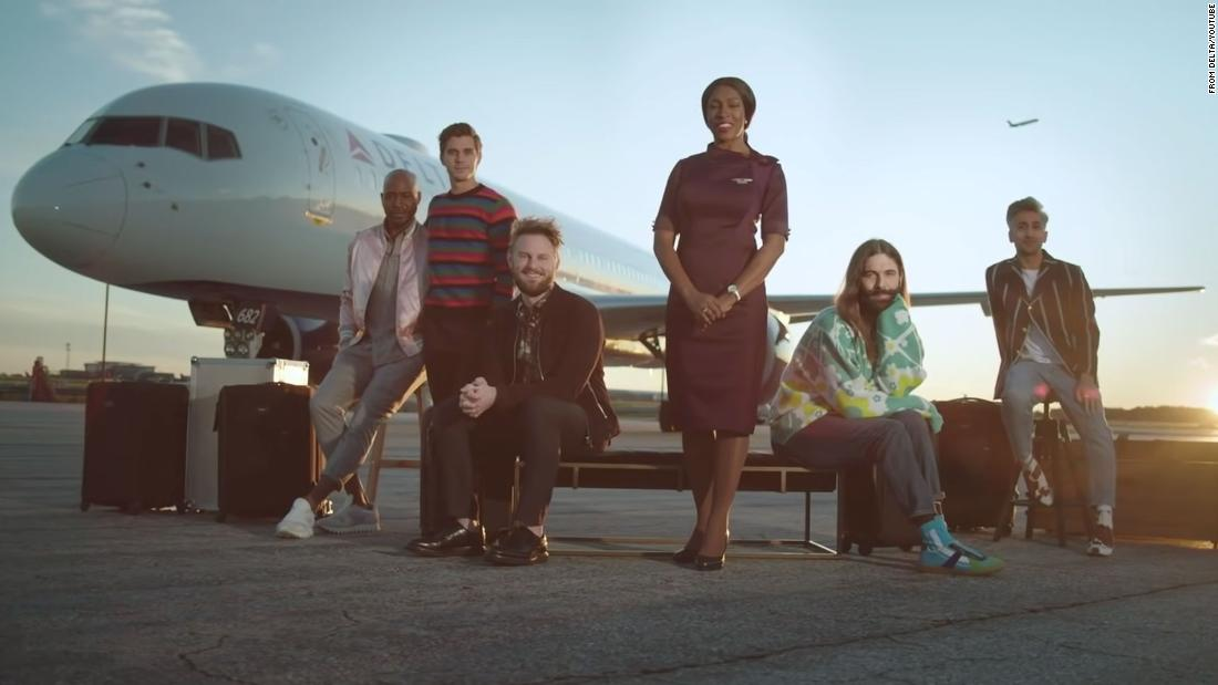 Delta Air Lines made a fabulous 'Queer Eye' safety video. The pandemic scuppered it