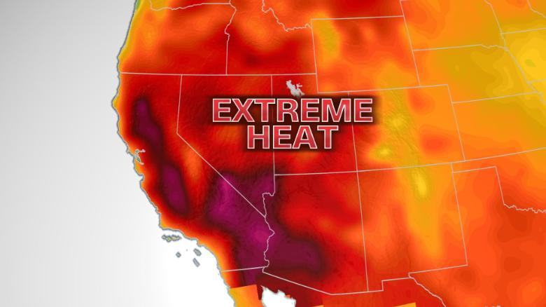 Southwest at highest heat risk level as heat wave this weekend threatens to break all-time temperature records