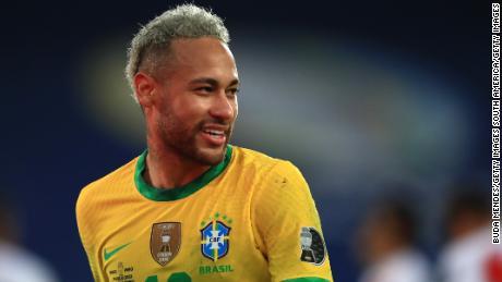 Standing in Messi's way in the final is old friend Neymar.