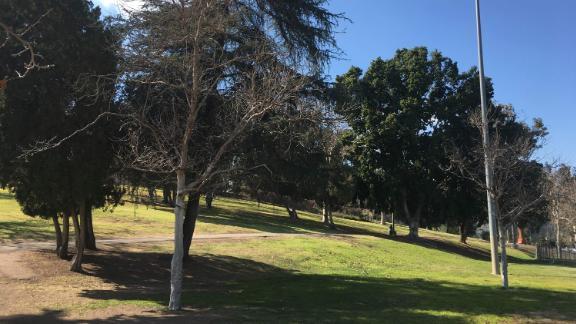 Hazard Park in Los Angeles, California.