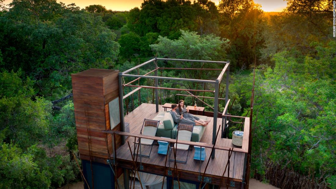 10 luxury hotel rooms where you can sleep in the great outdoors