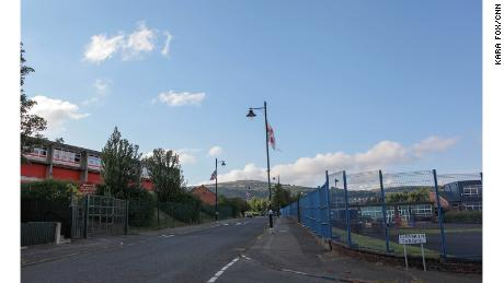 The Holy Cross Girls Primary School, in north Belfast's Ardoyne area, became a flashpoint for sectarian violence in 2001.