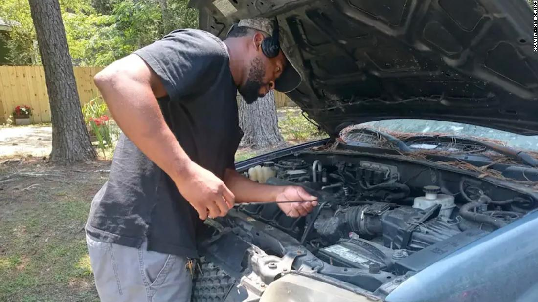 This restaurant owner spends his free time fixing old cars and donating them to people in need