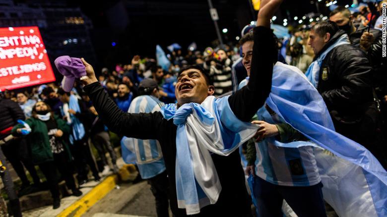 Kemenangan tersebut merupakan gelar Copa America ke15 Argentina