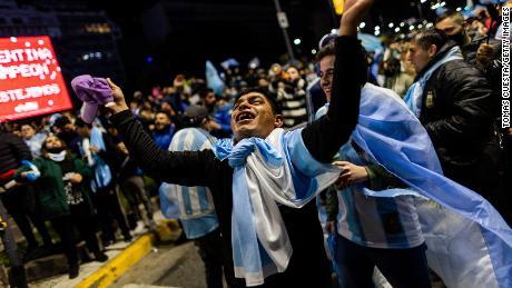 Esta vitória foi a décima quinta vitória da Argentina na Copa América.