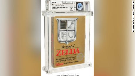 这本《塞尔达传说》的密封副本于周五以 87 万美元的价格售出。
