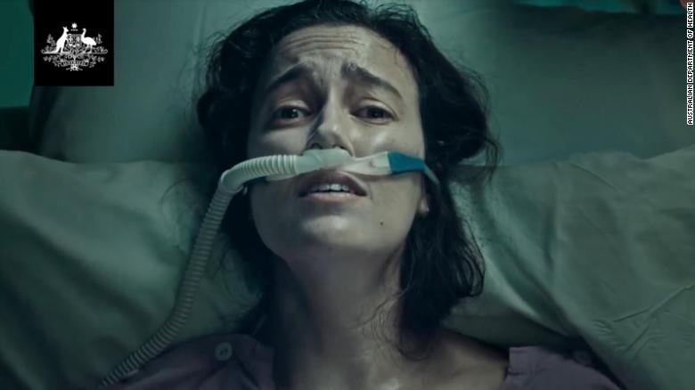 Australian ad showing Covid patient gasping for air sparks backlash as country battles Delta variant