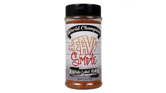 Heavy Smoke White Label BBQ Rub and Seasoning
