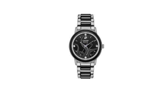 Ladies' Citizen Eco-Drive Villains Ursula Diamond Accent Two-Tone Watch