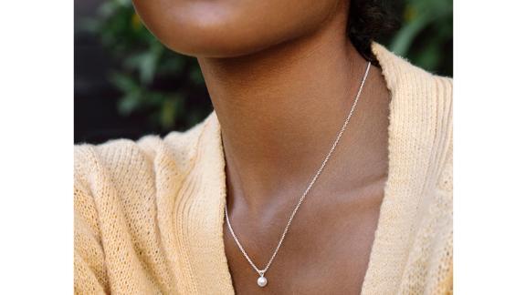 Brilliant Earth Premium Akoya Cultured Pearl Pendant
