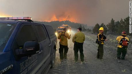 The Bootleg Fire started July 6 on the Fremont-Winema National Forest in Klamath County.