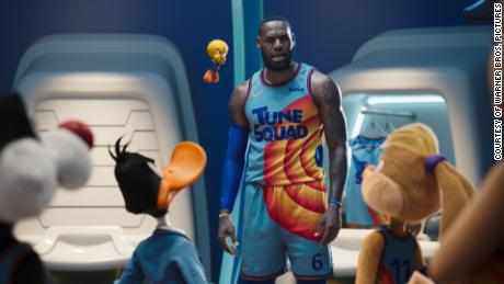 'Space Jam' and LeBron James score box office success this weekend