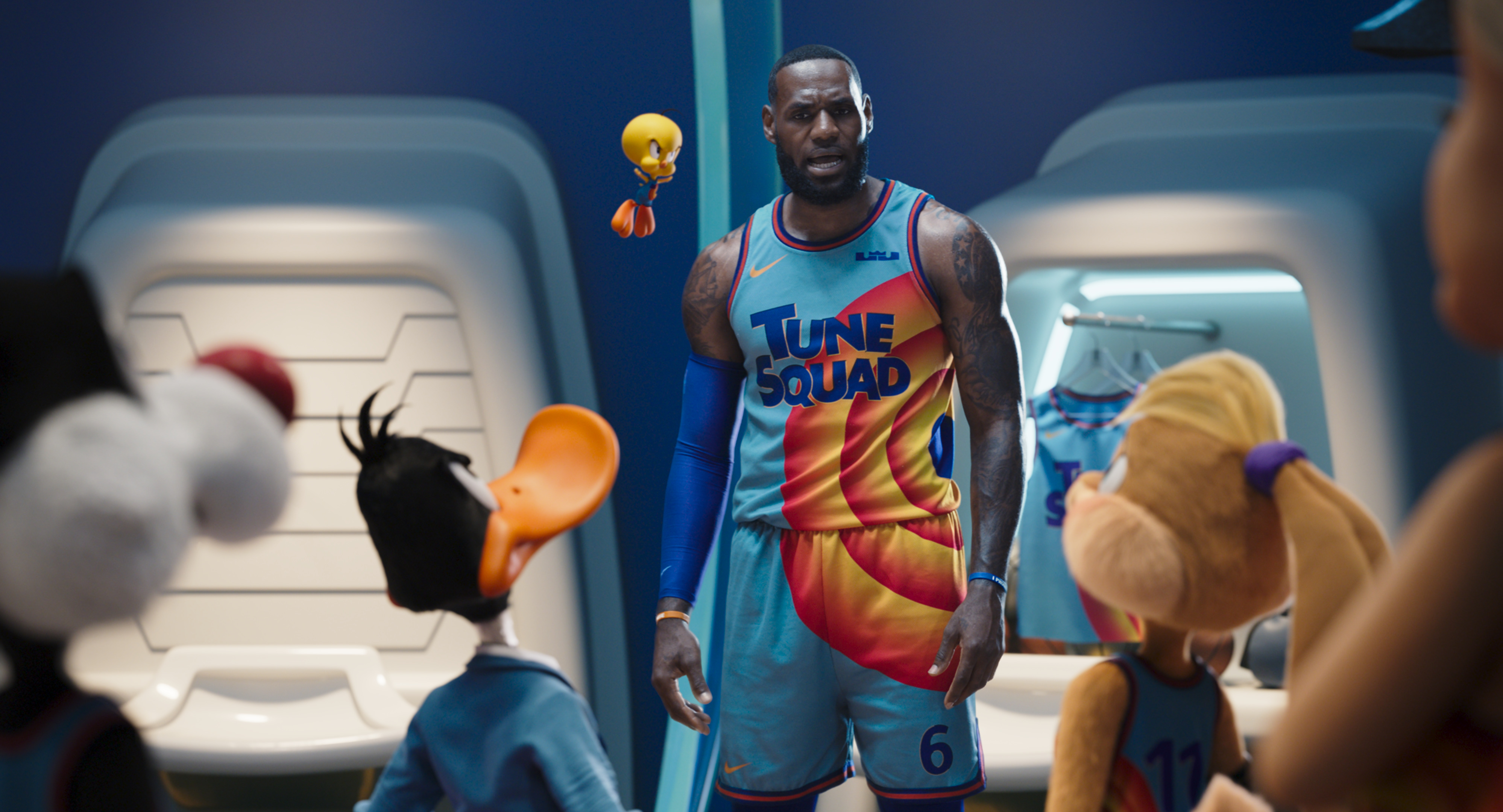 Space Jam: A New Legacy' review: LeBron James tries on Michael Jordan's  shoes in a numbing animated/live-action mix   CNN