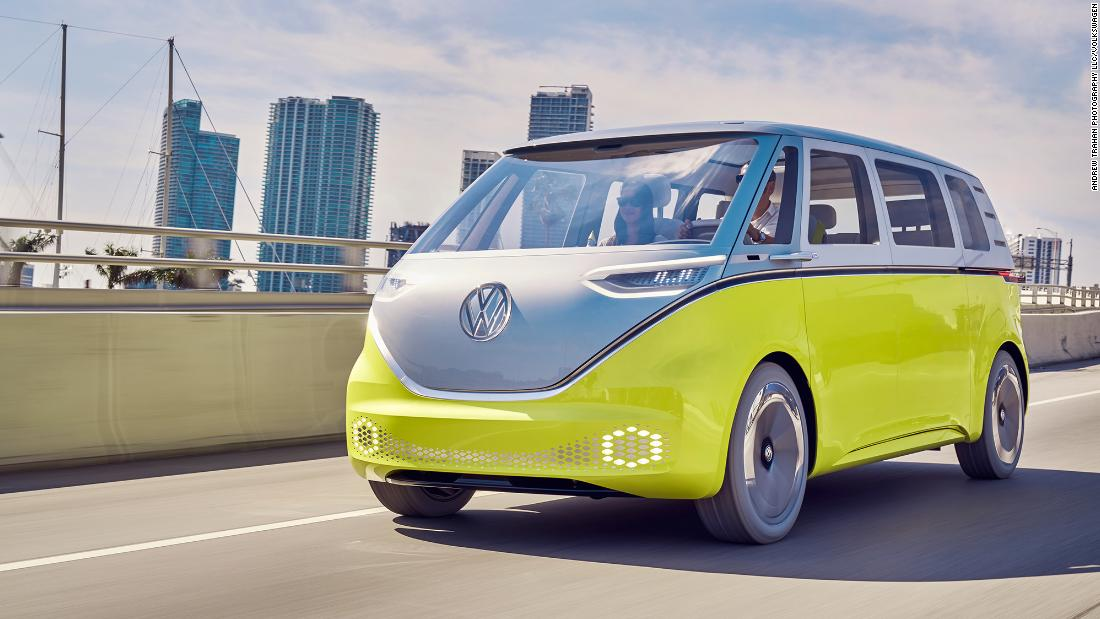 VW hopes its electric bus can drive huge sales growth in the US