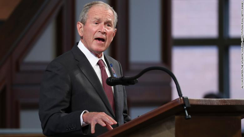 """George W. Bush says consequences of the US troop withdrawal from Afghanistan will be """"unbelievably bad"""""""